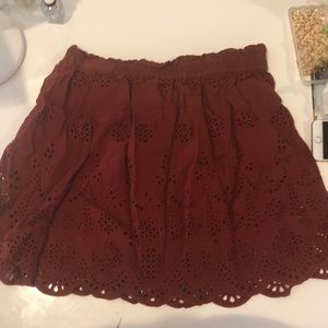 Madwell Red Skirt
